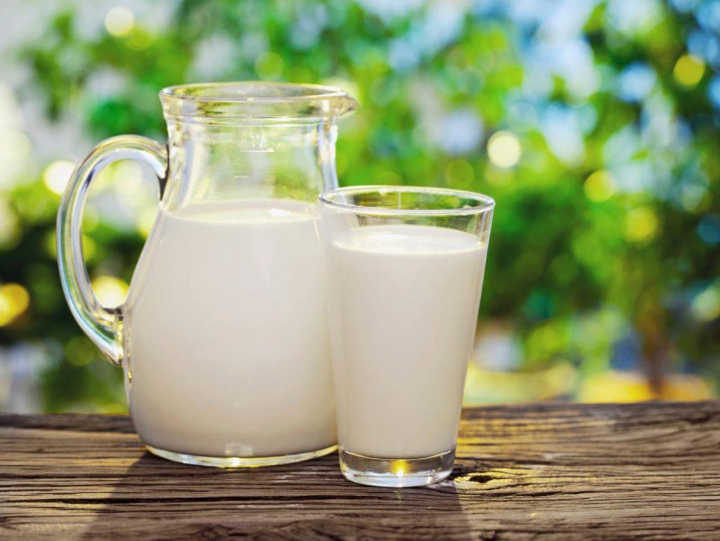 Молоко и молочные продукты на кето диете