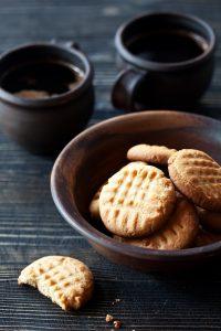 кето-печенье с чаем