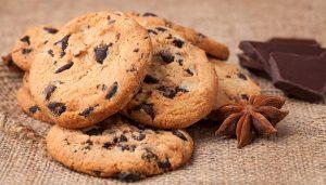 хороший рецепт кето печенья с шоколадной крошкой