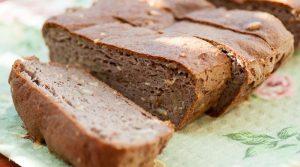 кето-хлеб из арахисовой муки