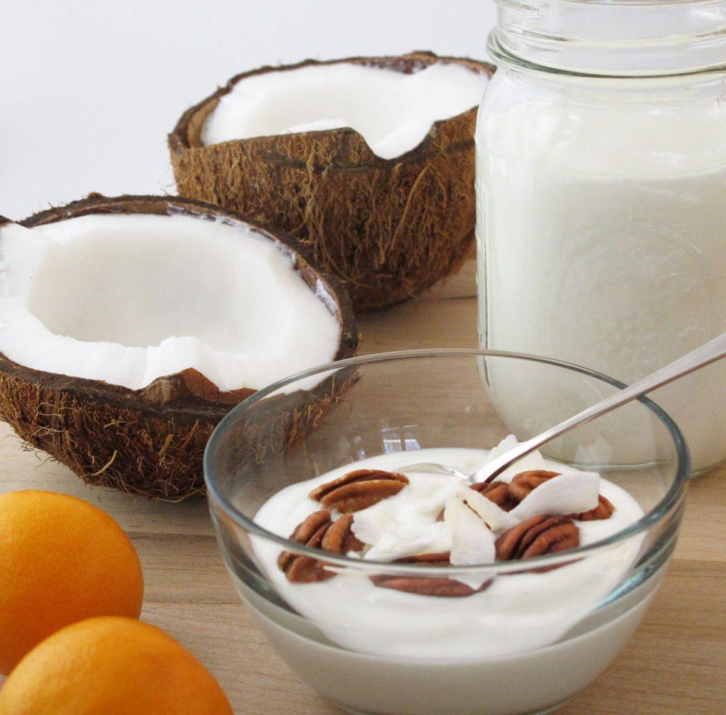 Кокосовый йогурт: 2 простых и полезных рецепта