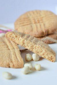 Кето печенье из арахисовой муки
