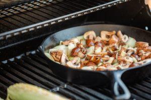 грибы и лук обжарить вместе это простые кето рецепты