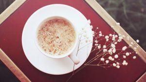 карамельный пряный латте утренний кето десерт на завтрак