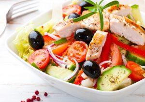 греческий салат среди популярных кет рецептов