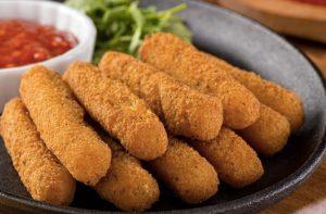 кето рецепты хрустящей моцареллы заменят картошку фри на диете