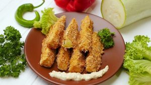 кабачки заменят картошку фри на кето диете