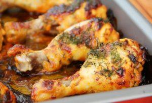 куриные ножки сытный обед из кето рецептов