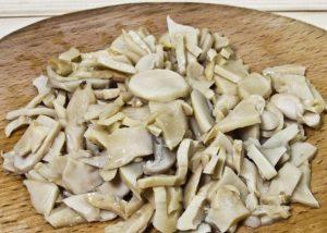 нарежьте грибы - кето рецепты салатов