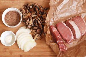 ингредиенты для свиных отбивных
