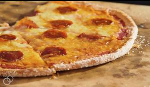низкоуглеводное сырное тесто для кето пиццы