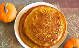 Тыквенные блины - необычные простые кето завтраки.