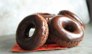 шоколадные кето пончики