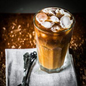 рецепты кето напитков - кофе со льдом