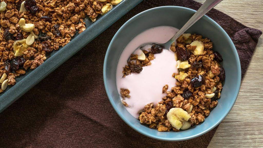 Гранола для кето завтрака  — мюсли без углеводов