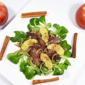 кето рецепт песни с корицей и яблоком на обед