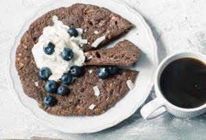 Шоколадный омлет - простые кето завтраки.