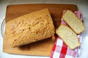 Классический кето хлеб из миндальной муки