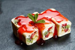 сладкие кето роллы - рецепты