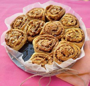 Сладкие кето булочки на завтрак