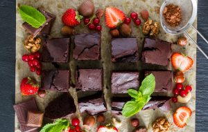 кето десерты и выпечка - рецепт кето брауни