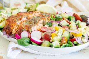 рецепты рыбы на кето