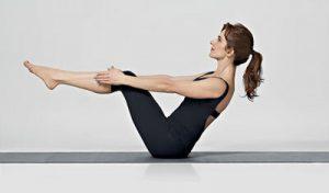 Лодочка. Упражнения для похудения живота из йоги