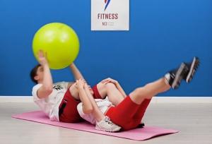 Физические упражнения для двоих людей.