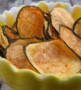 Огуречные чипсы без калорий - рецепт.