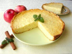 Рецепт творожной запеканки для кето диеты.
