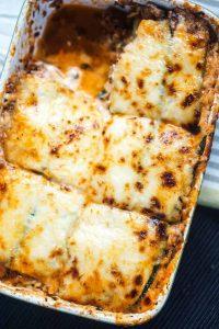 Кето лазанья без теста - сытный и вкусный рецепт