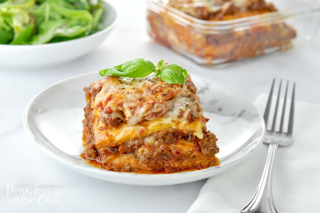 Кето лазанья без теста — сытный рецепт на обед и ужин