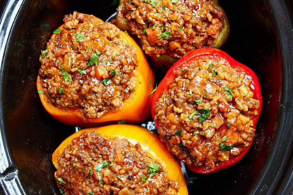 Фаршированные перцы – кето рецепт для сытного обеда