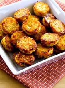 Кето оладьи из цветной капусты - простой рецепт из 2-х ингредиентов без муки.