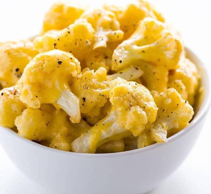 Рецепт цветной капусты в сырной корочке – простой кето рецепт!