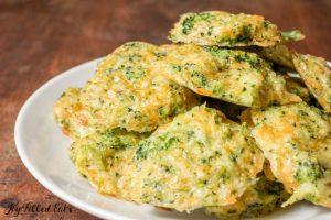 Оладьи из брокколи - кето рецепты.