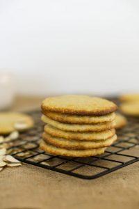 Творожное печенье - кето рецепты из творога.