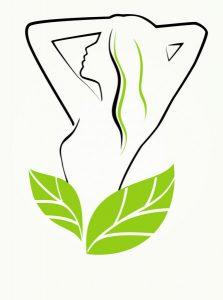 Кето для женщин. Силуэт фигуры, листья.