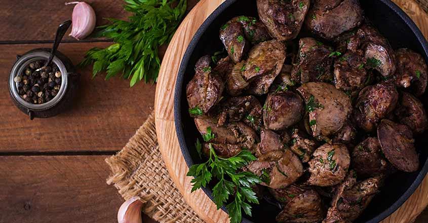 Куриная печень на кето. 4 лучших рецепта для кето диеты + советы