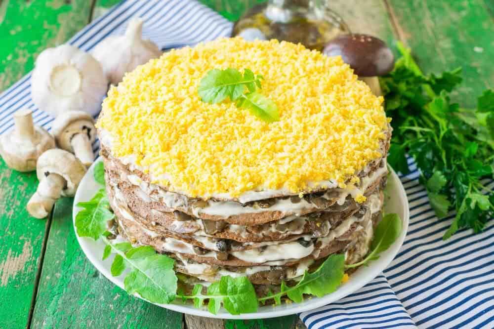 Рецепт печеночного кето торта. Рецепты из печени для худеющих