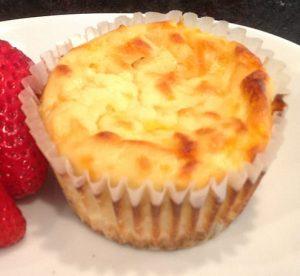 Творожный кето кекс - кето рецепты из творога.