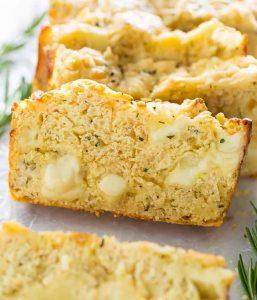 Сырный хлеб из творога - рецепты из творога для кето диеты.