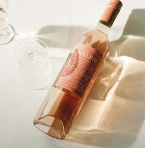 Розовое кето вино. Сухое.