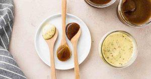 Жирные соусы помогают добрать жиры на кето.