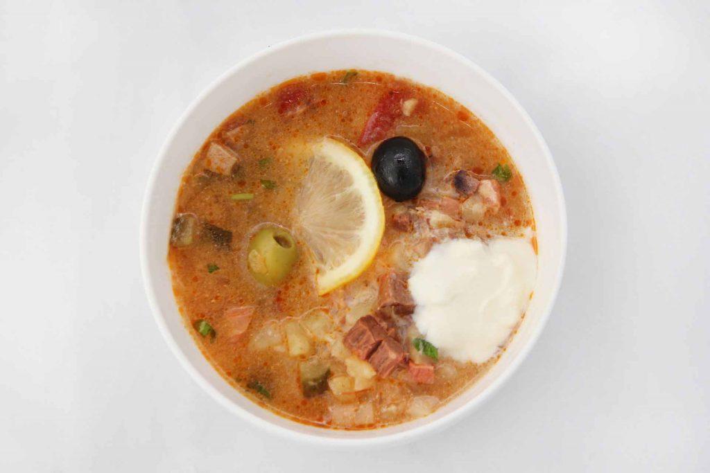 Кето солянка – 3 рецепта: мясная, рыбная, грибная. Кето суп на обед и ужин