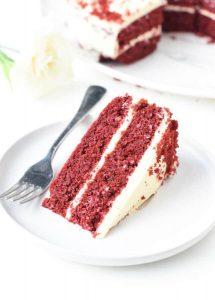 Торт красный бархат для кето диеты.