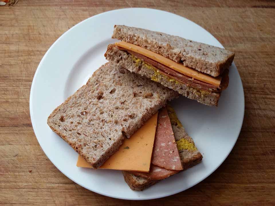 Вегетарианский бутерброд на кето в пост. Постное кето меню.