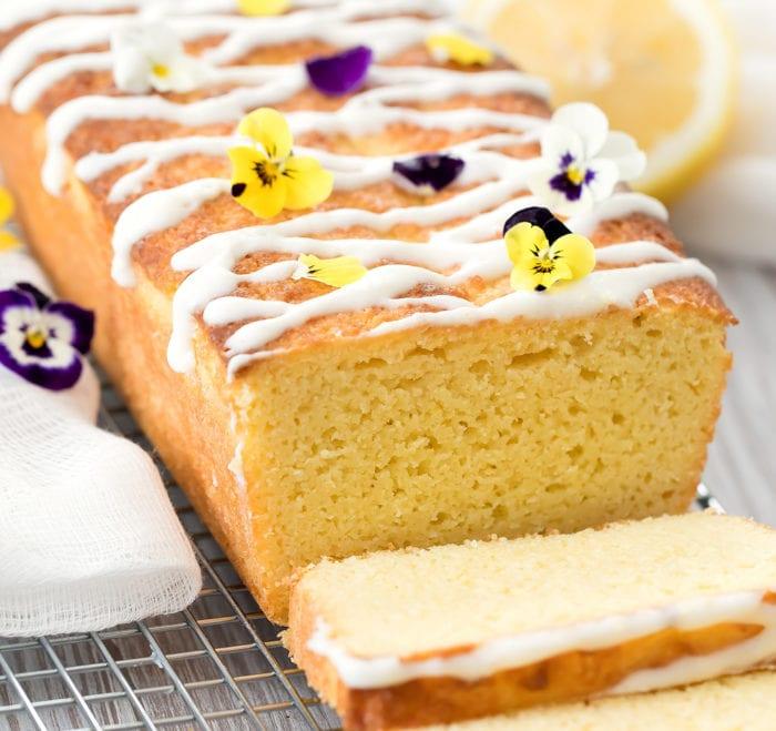 Лимонный кето кекс. Низкоуглеводные рецепты без сахара с лимонным пюре и порошком