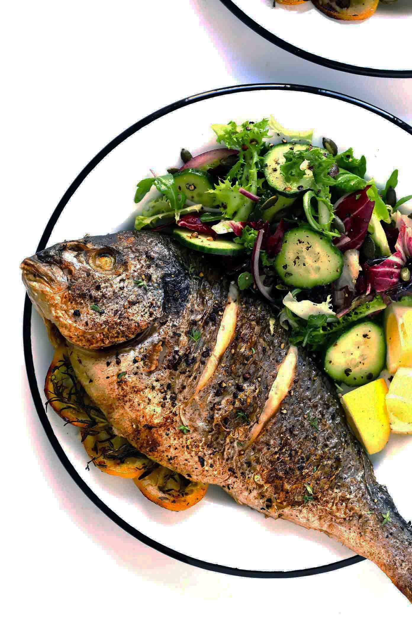Копченая рыба на кето диете.