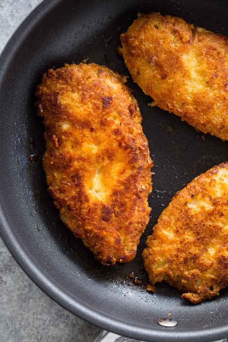 Сырная кето панировка для курицы и рыбы.
